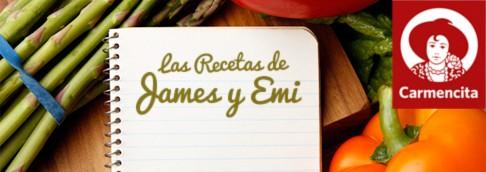 RECETAS James y Emi con especias Carmencita