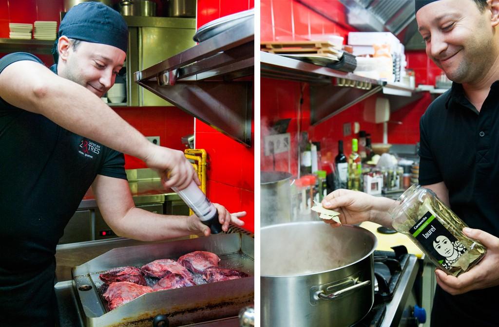 Carmencita cocina con v ctor melero de 2 tres gastrobar de - Cocina con carmen ...