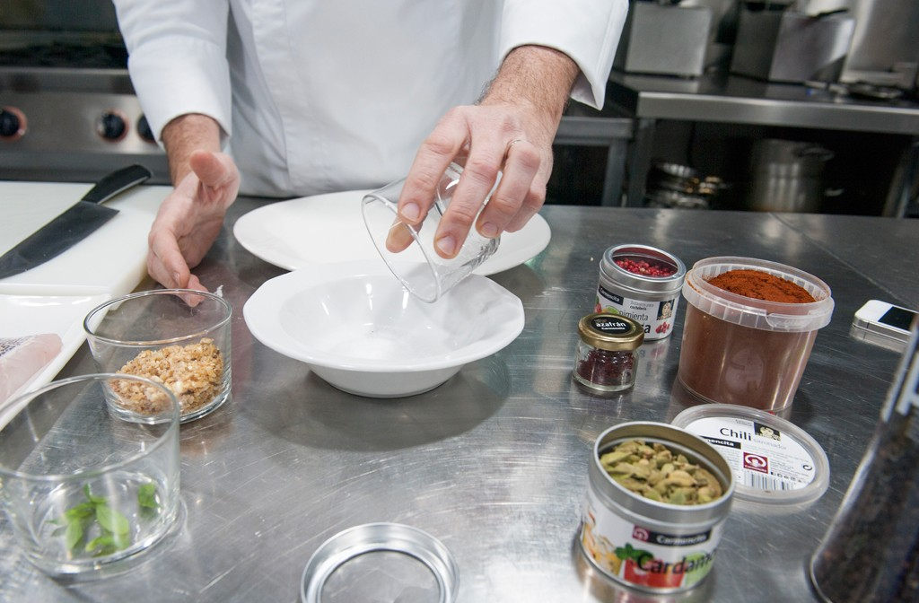 Carmencita cocina con Nacho Sellés del Restaurante El Laurel