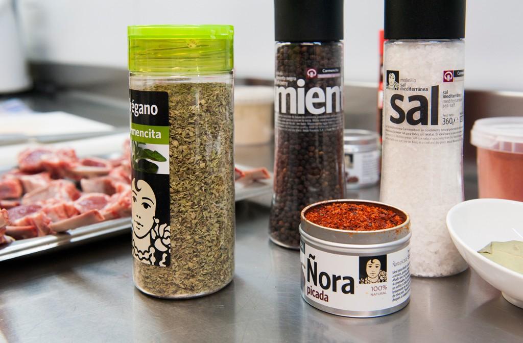 Carmencita cocina con Sergio Sierra del Teatro Bistrot Terrace