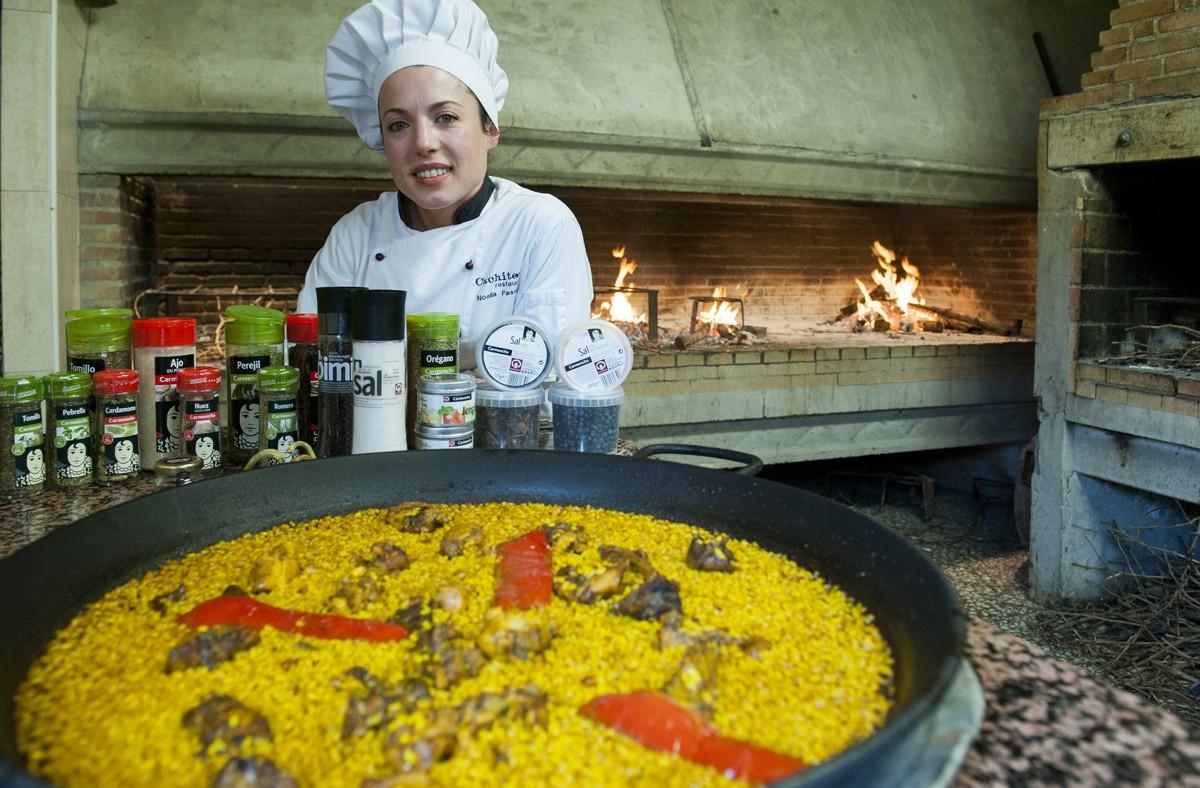 Carmencita cocina con noelia pascual de restaurante - Cocina con carmen ...