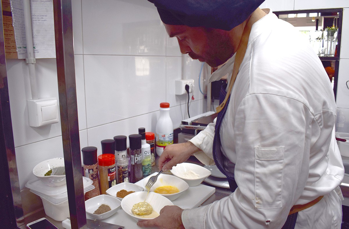 Carmencita cocina con Pablo de La Bistroteka