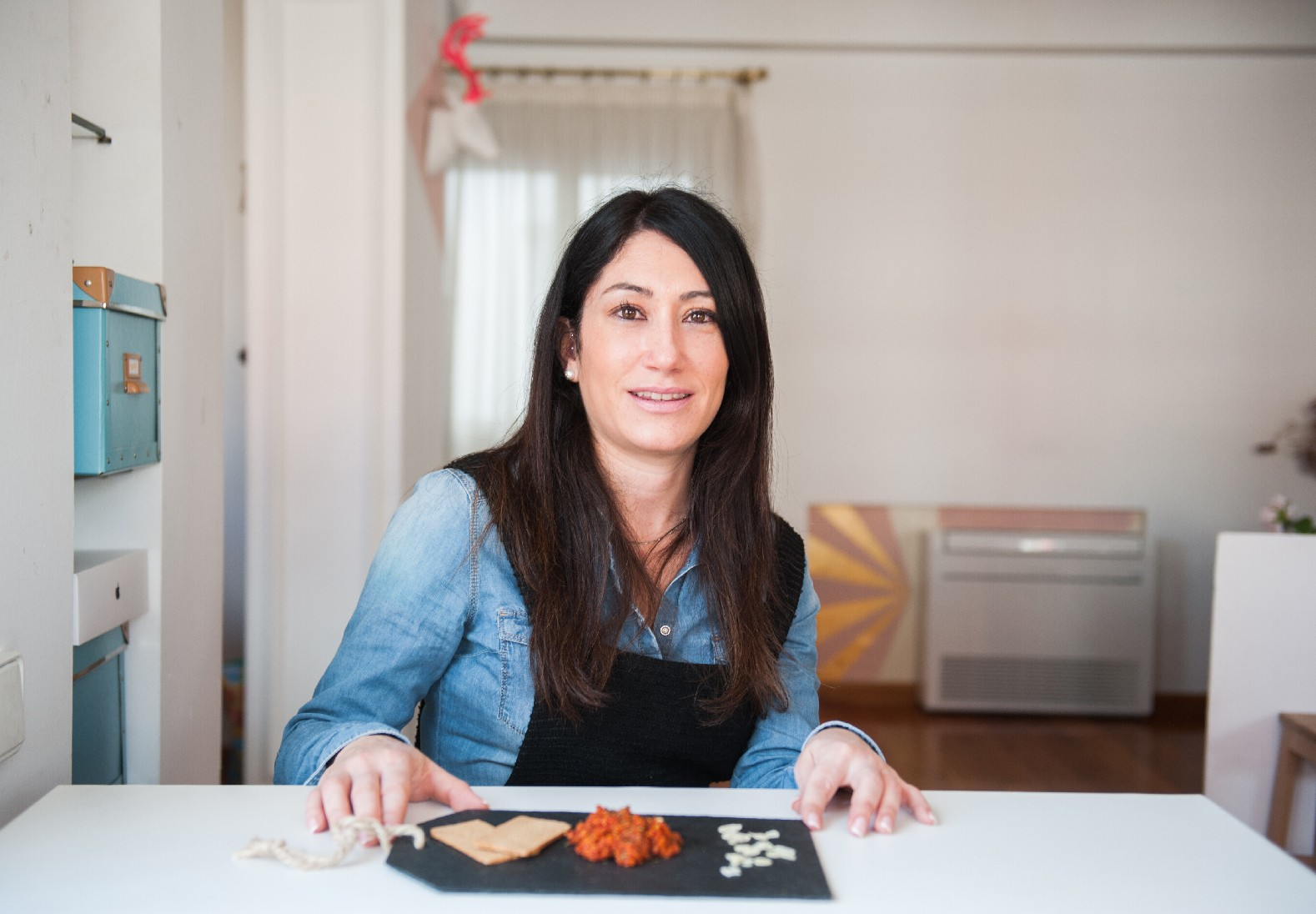 """Carmencita en la cocina de Cristina Rubio: """"sobrasada vegana"""" especiada"""