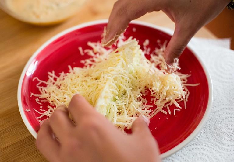 Carmencita en la cocina de Verónica Martínez: chips de calabacín.