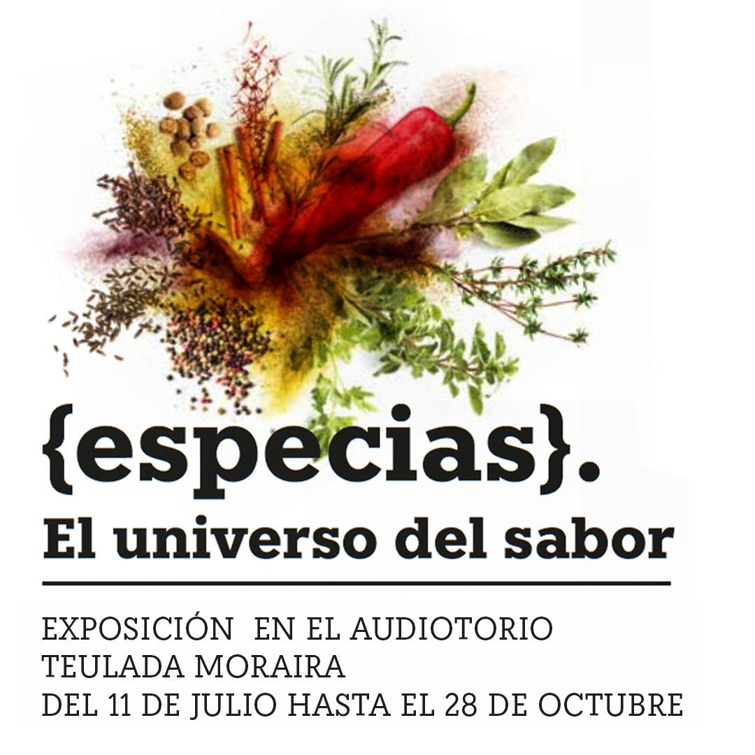 'Especias: el universo del sabor' exposición de la Cátedra Carmencita