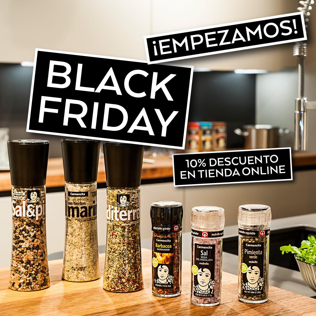 LLEGA EL BLACK FRIDAY A CARMENCITA · El blog de Carmencita