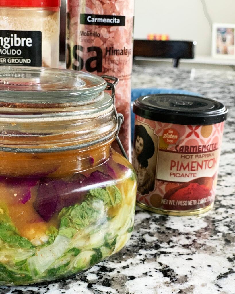 Cómo hacer Kimchi casero con sabor Carmencita